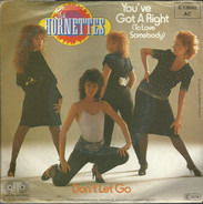 The Hornettes - You've Got A Right (To Love Somebody)