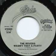 The Irish Rovers - Wasn't That A Party / Pain In My Past