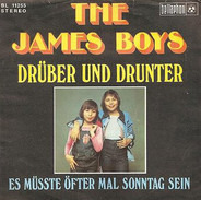 The James Boys - Drüber und drunter