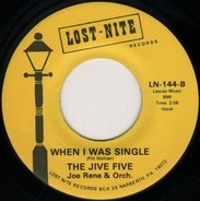 The Jive Five - My True Story / When I Was Single