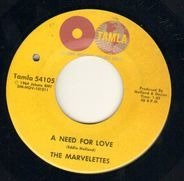 The Marvelettes - Too Many Fish In The Sea / A Need For Love