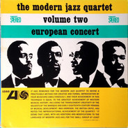 The Modern Jazz Quartet - European Concert: Volume Two