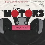 The Motors - That's What John Said