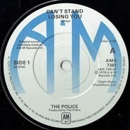 The Police - Can't Stand Losing You / Dead End Job