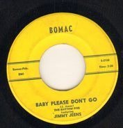 The Rhythm Five Featuring Jimmy Jeems / The Rhythm Five Featuring Howard Boone - Baby Please Don't Go