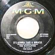 The Royalettes - It's Gonna Take A Miracle / Out Of Sight, Out Of Mind