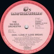 The Salsoul Orchestra - Ooh, I Love It (Love Break)