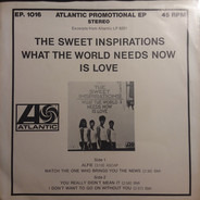 The Sweet Inspirations - What the World Needs Now Is Love