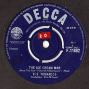 The Tornados - The Ice Cream Man / Theme From 'The Scales Of Justice'
