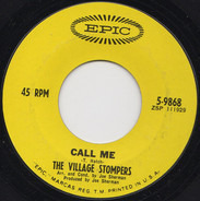 The Village Stompers - Call Me / The Bird Of Bleeker Street