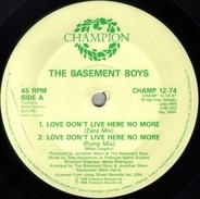 The Basement Boys - Love Don't Live Here No More