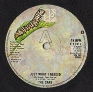 The Cars - Just What I Needed / I'm In Touch With Your World