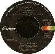 The Chi-Lites - I Found Sunshine