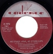 The Chordettes - No Other Arms, No Other Lips / We Should Be Together