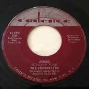 The Chordettes - Zorro / Love Is A Two-Way Street