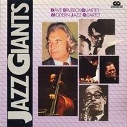 The Dave Brubeck Quartet / The Modern Jazz Quartet - Jazz Giants