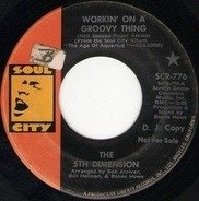 The Fifth Dimension - Workin' On A Groovy Thing / Broken Wing Bird