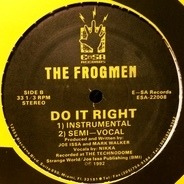 The Frogmen - Do It Right