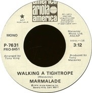 The Marmalade - Walking A Tightrope