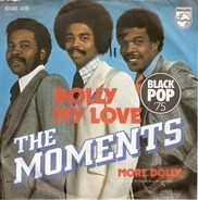 The Moments - Dolly My Love / Instrumental
