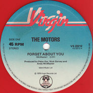 The Motors - Forget about you