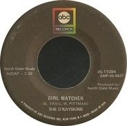 The O'Kaysions - Girl Watcher
