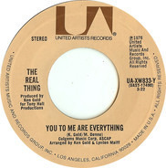The Real Thing - You To Me Are Everything / Keep An Eye (On Your Best Friend)