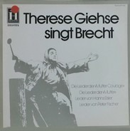 Therese Giehse - Therese Giehse Singt Brecht