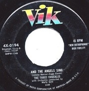 The Three Chuckles - And The Angels Sing / Tell Me