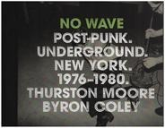 Thurston Moore, Byron Coley - No Wave: Post-Punk. Underground. New York 1976-1980