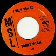 Tommy McLain - Sweet Dreams / I Need You So