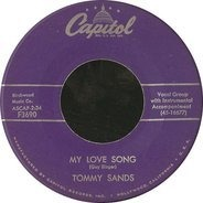 Tommy Sands - My Love Song / Ring-A-Ding-A-Ding