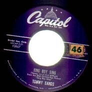Tommy Sands - Sing Boy Sing / Crazy 'Cause I Love You