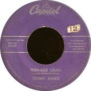 Tommy Sands - Teen-Age Crush / Hep Dee Hootie