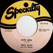 Tony Allen & The Champs - Nite Owl