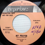 Tony Williams - My Prayer