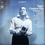 Tony Bennett - Tony Bennett's Greatest Hits, Volume III