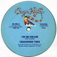 Treacherous Three - Yes We Can-Can