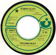 Triumvirat - Dimplicity