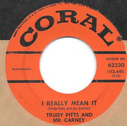 Trudy Pitts And Bill Carney - I Really Mean It