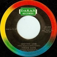 Tyrone Davis - Is It Something You've Got / Undying Love