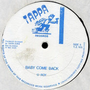 U-Roy / Sly & Robbie - Baby Come Back / Version