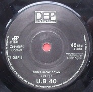 Ub40 - Don't Slow Down / Don't Let It Pass You By