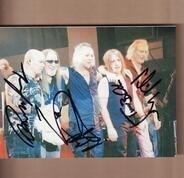 Uriah Heep - Uriah Heep signed foto