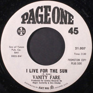 Vanity Fare - I Live For The Sun