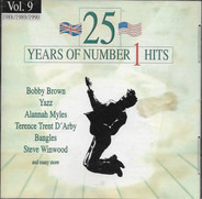 Tiffany, Terence Trent D'Arby a.o. - 25 Years Of Number 1 Hits Vol. 9 1988/1989/1990