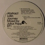 Various - Abstract Latin Journey EP 1