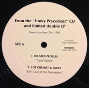 "Jurassic 5, Styles of Beyond, a.o. - From ""The Funky Precedent"" CD And Limited Double LP"