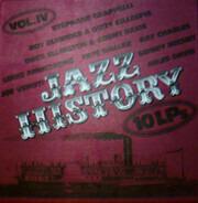 Stephane Grappelli, Dizzy Gillespie, Count Basie a.o. - Jazz History / 10 LPs Vol. IV