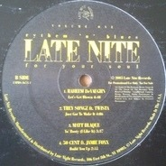 50 Cent, K Young, a.o. - Late Nite Volume One